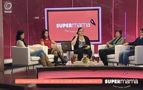 Skandál v pořadu Supermama