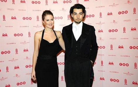 Emma Smetana s Jordanem Hajem