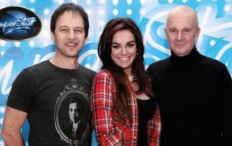 SuperStar, Ewa Farna, Pavol Habera a Ondřej Soukup