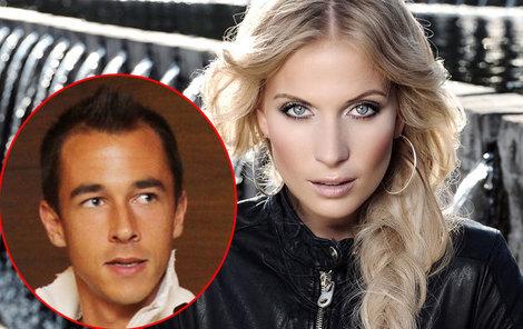 Míša Ochotská a tenista Rosol. Jak se zdá, zatím mají problém lásku přiznat.