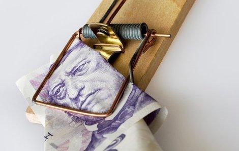 Když máte prázdnou peněženku, půjčení peněz vás nespasí. Často je to přesně naopak.