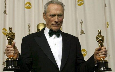 Clint Eastwood vyhrál v minulosti celkem čtyři Oscary.