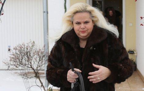 Monika Štiková pohořela