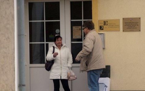 Ivana Zemanová ještě nedávno chodila do utajené kanceláře v pražských Stodůlkách. Ta je dnes vyklizená...