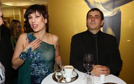 Tereza Kostková s manželem