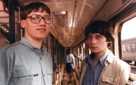 Nerozlučná dvojka. David Matásek s Pavlem Křížem byli velcí kamarádi i ve skutečnosti. A díky tomu dostali hlavní role.