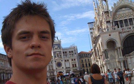 Jirka Mádl v Benátkách