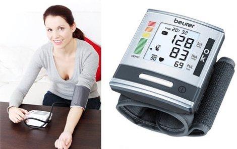 Mějte svůj krevní tlak pod kontrolou.
