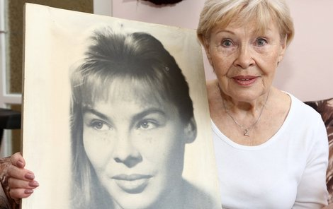 Takhle vypadala Valentina v 25 letech.