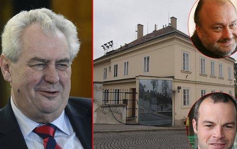 Klausovým můžům se z Hradu nechce. Aby ne, za ty peníze bydlení v Praze neseženou.