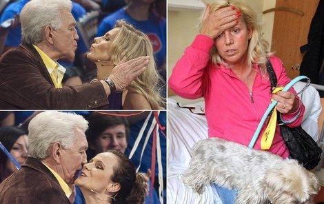 Jirka Krampol má pro krásné ženy slabost...Hanka to těžce snáčí