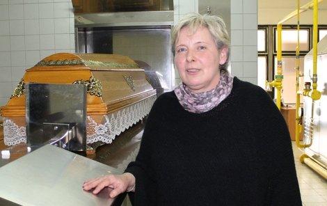 Ředitelka krematoria Kateřina Vrbová.