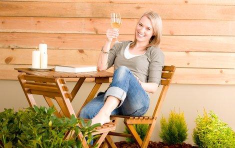 Posaďte se na terase...