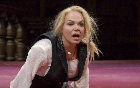 Havlová nahradila Žilkovou v divadle.