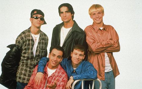 Backstreet Boys v době, kdy po nich šílely snad všechny dívky