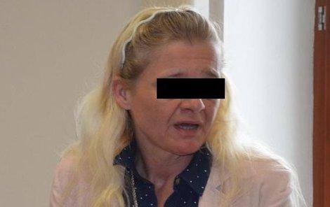 Eva F. obviněná z vraždy manžela, připomínala u soudu uzlíček nervů.