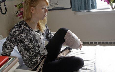 Dočká se pomoci baletka Adrianne Hasletová, která přišla o nohu při bostonském atentátu?