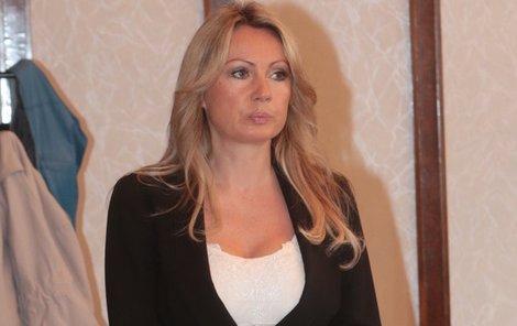 Nová tisková mluvčí Eva Chaloupková.