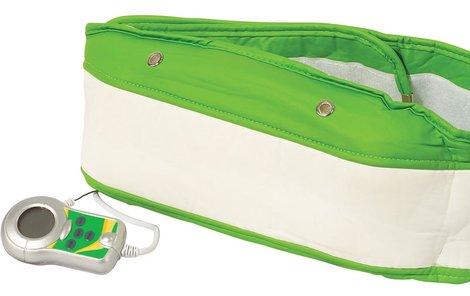 Masážní pás pro redukci podkožního tuku a zpevnění rizikových partií.