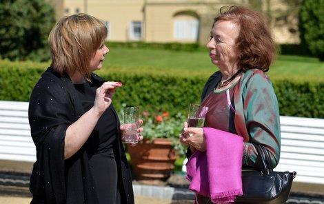 Livie Klausová a Ivana Zemanová