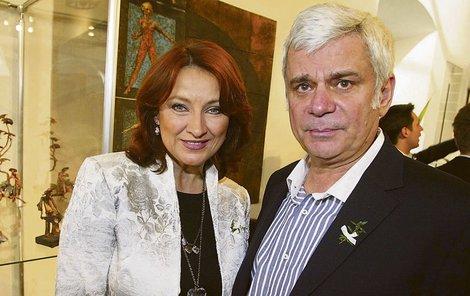 Adamovská a Štěpánek v roce 2010