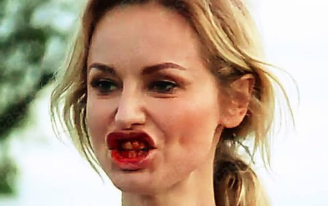 Adrina Sklenaříková se napila krve.
