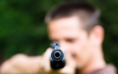 Na svoji ženu neváhal vystřelit i ze vzduchovky...(Ilustrační foto)