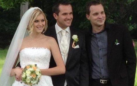 Na svatbu novomanželé pozvali jen své nejbližší.