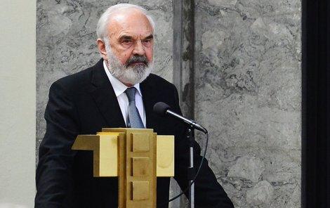 Zdeněk Svěrák se naposled rozloučil s Janem Kašparem.