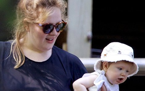 Angelo s maminkou Adele.