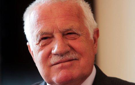 Ex-prezident Václav Klaus