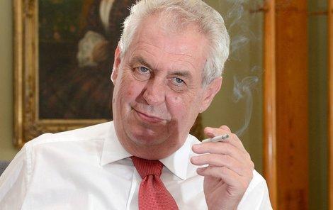 Miloš Zeman se zřejmě ani nemusel připravovat. Roli prezidenta hraje každý den.