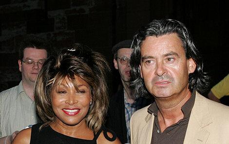 Tina Turner se svým životním partnerem