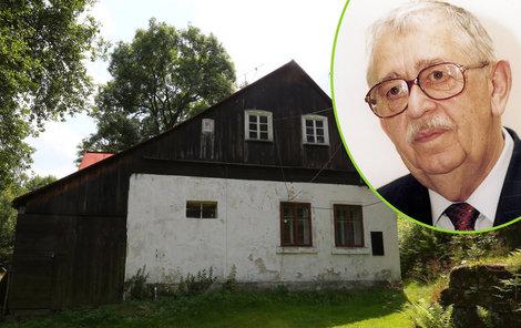 Po rozvodu nechal Brodský chalupu v Kytlici manželce Bíbě a synu Markovi.