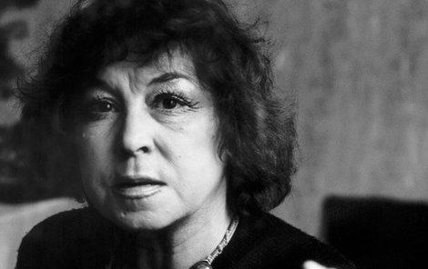 Jazzová zpěvačka Eva Olmerová