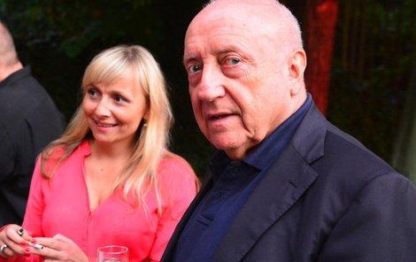 5. září 2013 Slováček se s dcerou potkal na párty Borka Severy.
