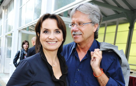 Novomanželé Freimanová a Bouček