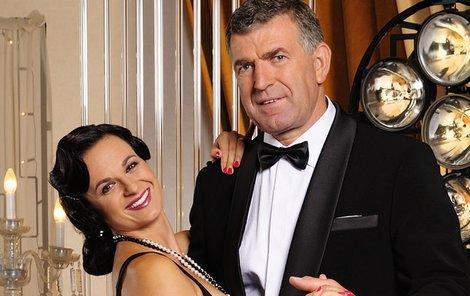 Imrich Bugár ve StarDance tančí s Jitkou Šorfovou.