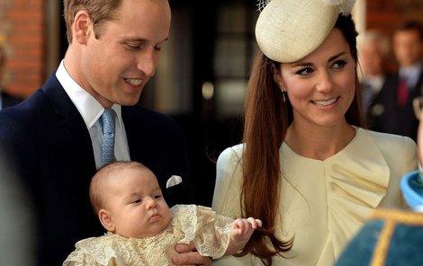 Kate a George se budou rekreovat na ostrově Mustique.