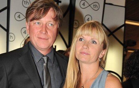 Michal Dlouhý a jeho trpělivá manželka Zuzana.