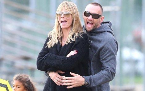 Heidi Klum má velmi osobního strážce. Martin Kristen je totiž nejenom jejím bodyguardem, ale i milencem.