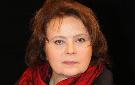 Libuše Šafránková údajně čeká na operaci nezhoubného plicního nádoru, Nyní se však léčí s virózou.