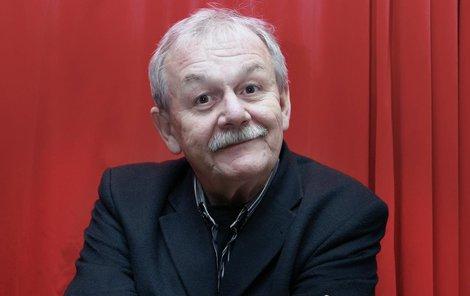 Karel Šíp je mimo jiné i textař.