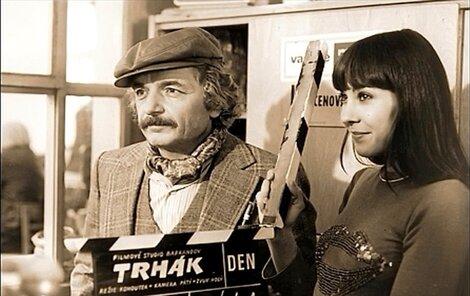 Z natáční filmu Trhák.