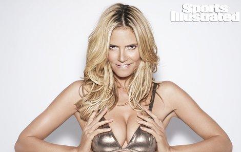 Heidi Klum je stále pekelně sexy.