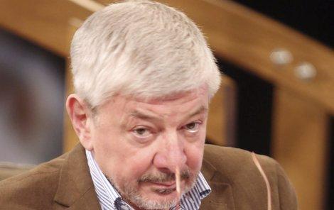 Vladimír Železný skončil v TV Barrandov po pěti měsících.