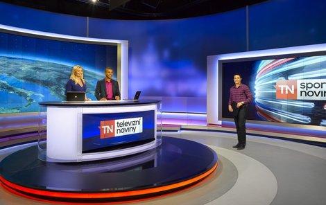 Nové multifunkční studio TV Nova