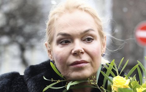 Dagmar Havlová se chystá na další pohřeb.