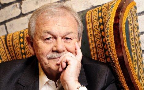 Karel Šíp moderuje TýTý už několik let. Před dvěma roky měl, ale kvůli zdravotním potížím pauzu.
