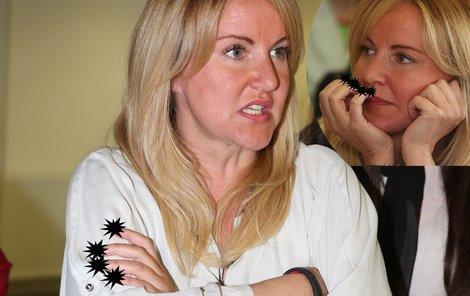 Vendula Svobodová předvedla podivné nehty.